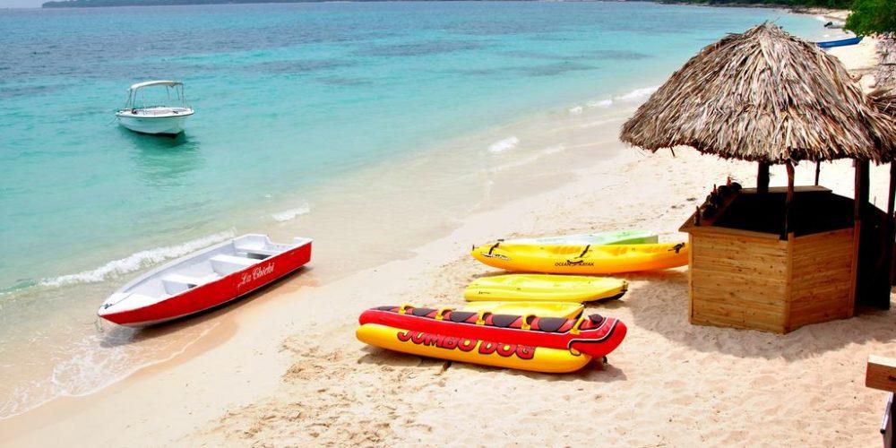 Playa Blanca en lancha rápida y bus